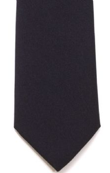 L A Smith Tie T1801/1 Black